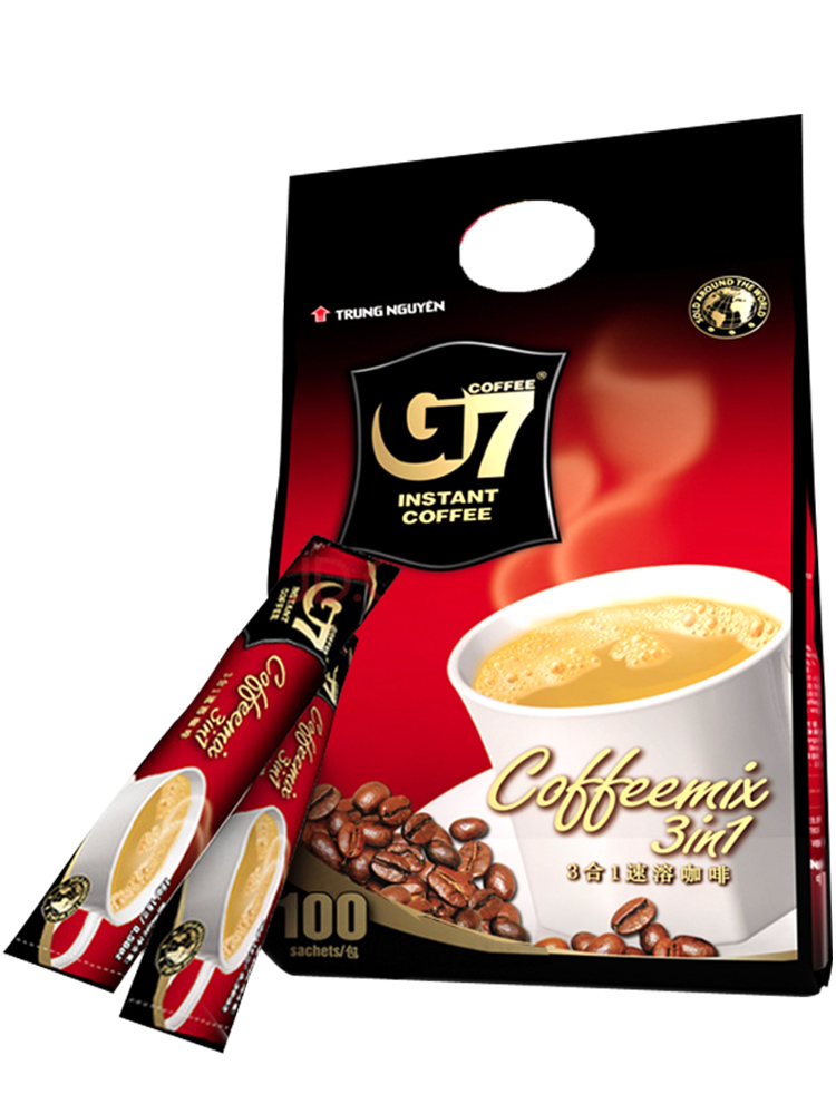 限PLus会员,越南进口 中原G7 三合一速溶咖啡 1600g 新低39.9元(双重优惠)
