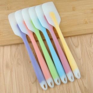 【两个装】硅胶刮刀烘焙工具耐高温一体式奶油蛋糕抹刀牛轧糖铲刀