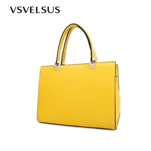 威尔萨斯牛皮女士手提包时尚包包女2019新款气质大容量手拎女大包