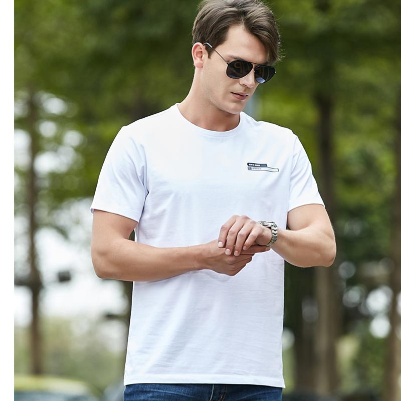 战地吉圃短袖t恤男 品牌男士体恤夏天装 半袖弹力棉质休闲汗衫男
