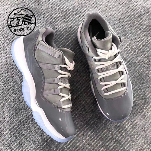 8266220ef987 ... Air Jordan 11 Low AJ11 Easter Low Help Chameleon Cool Grey Basketball  Shoes 528895-145