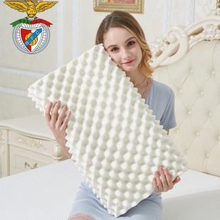 狼牙乳胶枕头枕芯成人 单人真空酒店护颈枕头一对家用学生保健枕