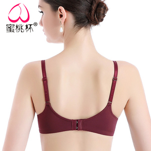 无钢圈文胸罩轻型一片式无痕光面内衣女舒适聚拢瑜伽睡眠运动内衣