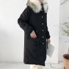 Korean chic collar thick warm jacket coat jacket winter new loose was thin in the long section of bread clothes