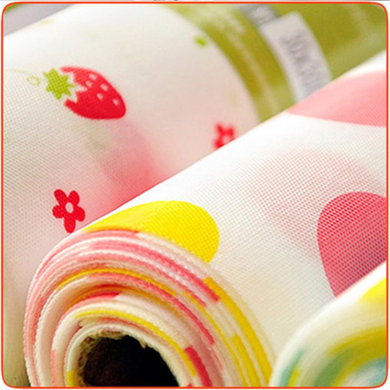 防潮垫橱柜印花加厚家用厨房防水防尘防滑衣柜鞋柜抽屉垫防油贴纸