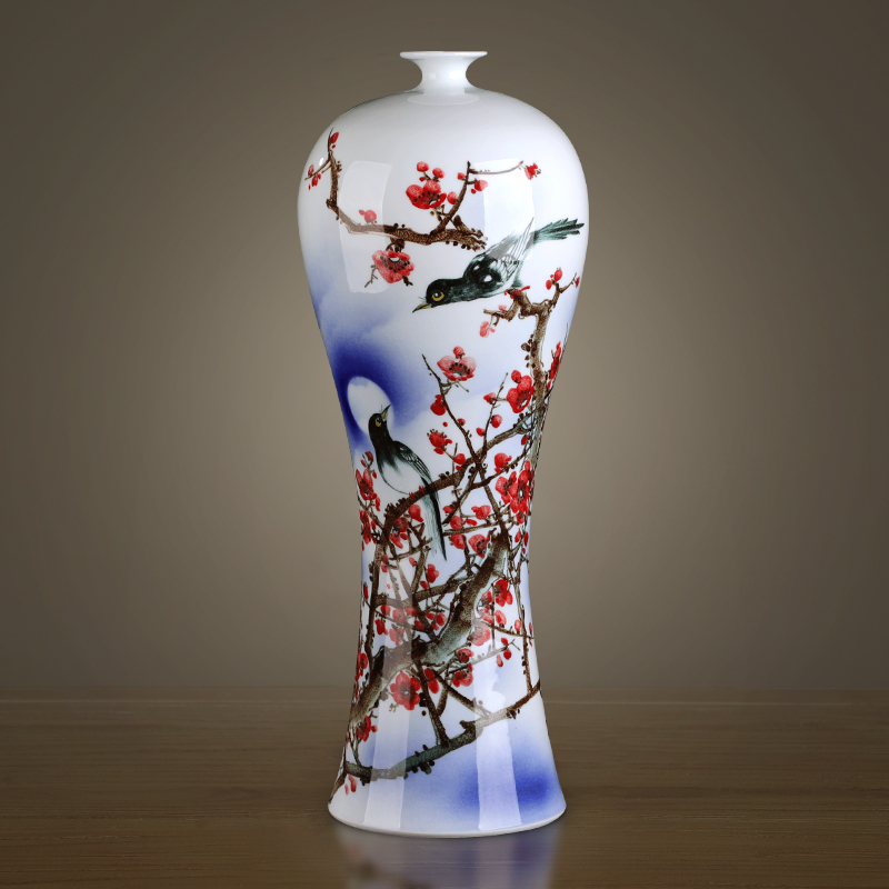 The Master of jingdezhen chinaware big vase beaming furnishing articles gifts hand - made hotel club villa
