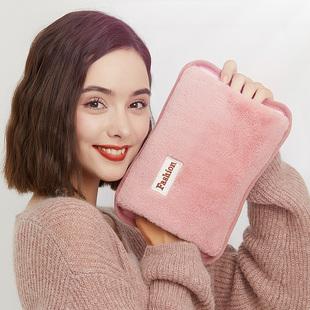热水袋充电式防爆暖水袋煖宝宝卡通可爱毛绒电暖手宝女敷肚子注水