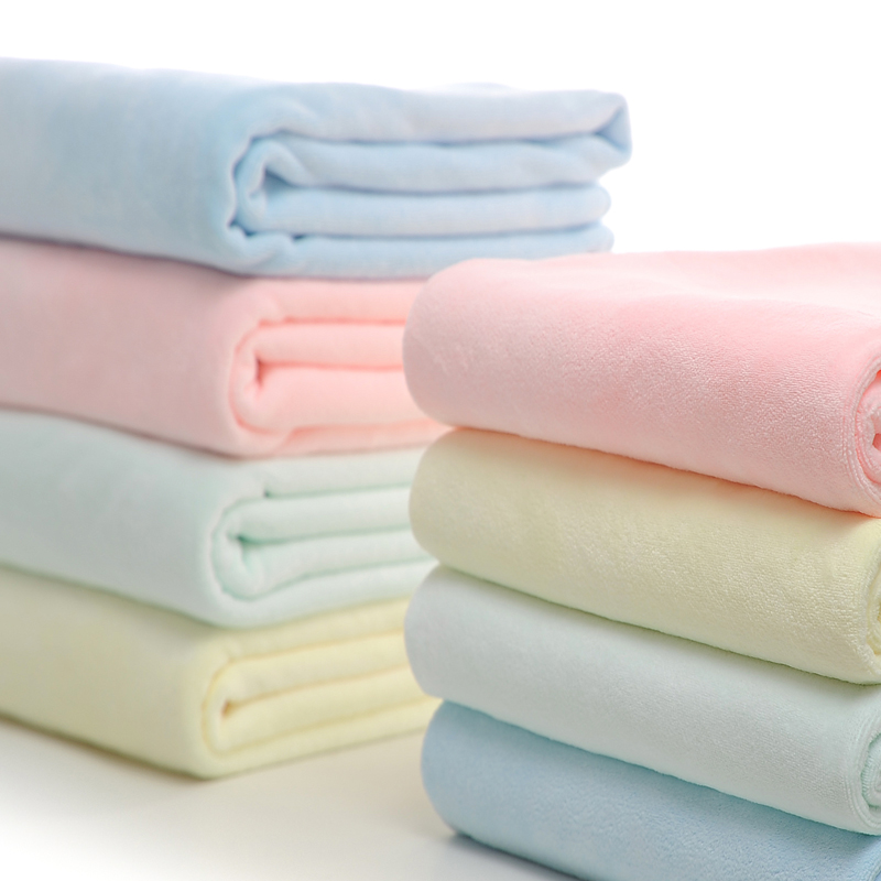 特价比纯棉浴巾柔软超强吸水加大厚不掉毛成人男女婴儿童宝宝洗澡