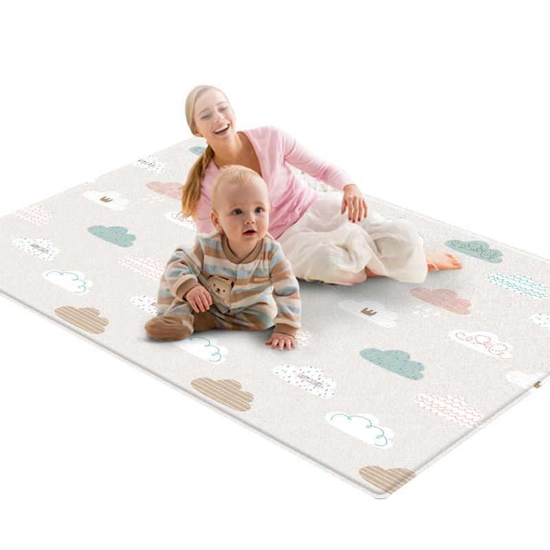 韩国原装进口 帕克伦PVC宝宝爬行垫 客厅家用加厚1.5cm婴儿爬爬垫