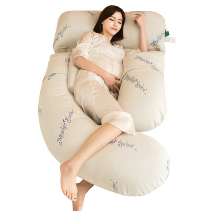 Maternity Pillow Pregnant women side lying pillow pregnant stomach support multi-function u-type sleeping pillow