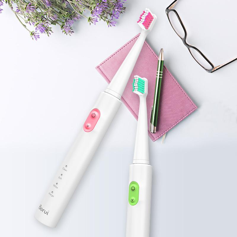 铂瑞德国BR-Z1声波电动牙刷软毛成人款充电式家用情侣自动牙刷