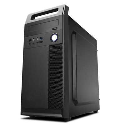 酷睿i3i5办公家用电脑四核电脑主机台式电脑全套DIY组装机电脑