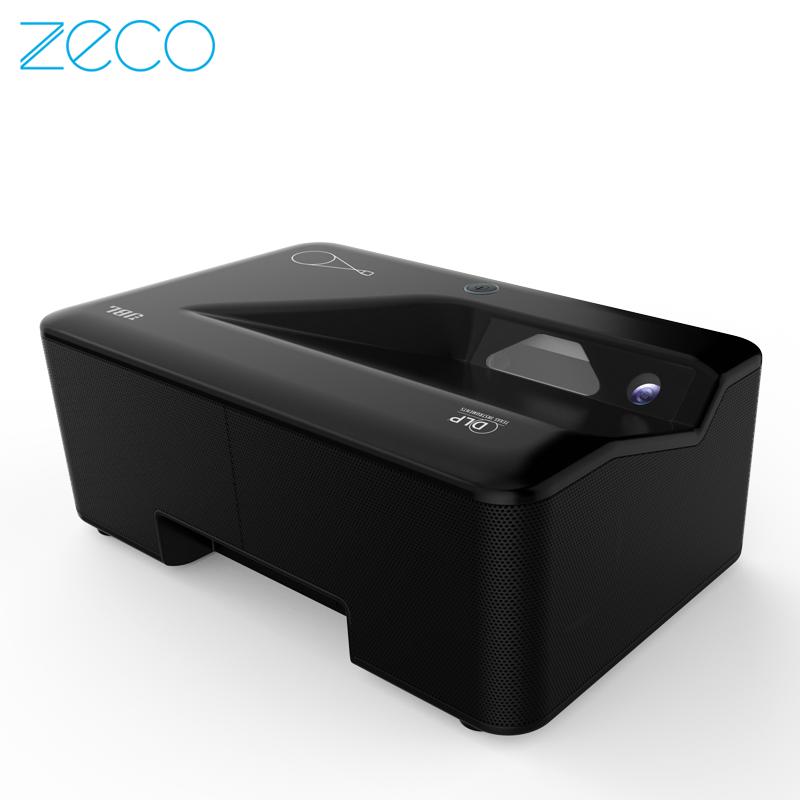 元投影P7 超短焦投影仪 激光电视 家用投影机 智能3D高清1080P