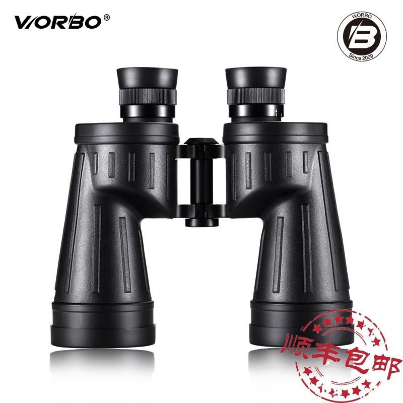 十字分划板测距worbo/惟博充氮防水双筒夜视望远镜高清高倍越野家