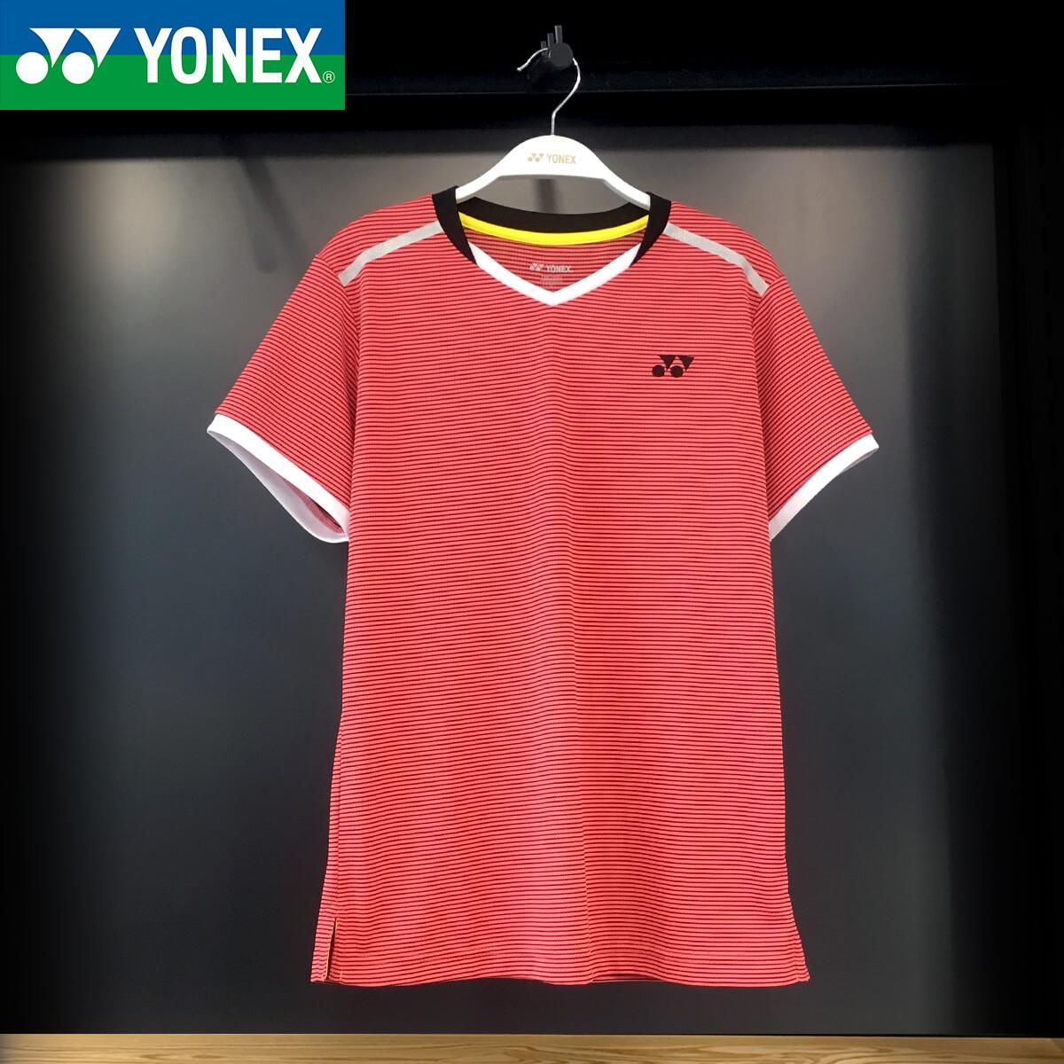 官网正品YONEX尤尼克斯2018夏季新款女款羽毛球服速干圆领短袖T恤