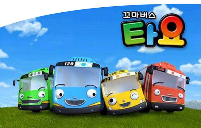韩国泰路tayo巴士 动漫可爱回力小汽车太友小公交车儿童卡通玩具_3折图片