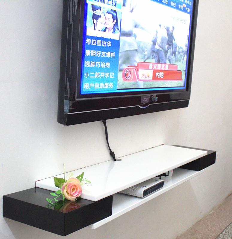Настенные полки под телевизор своими руками