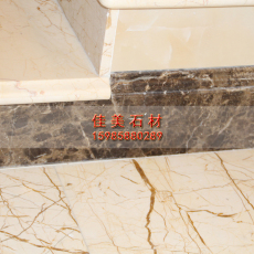 Бежевый мрамор Каменные лестницы строительство/мраморные лестницы