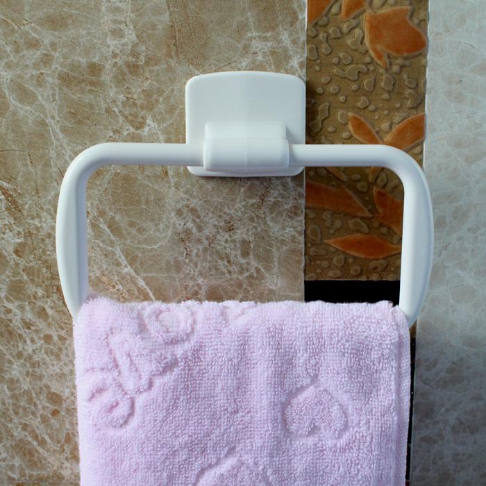 安奇日式粘胶式毛巾架KM802