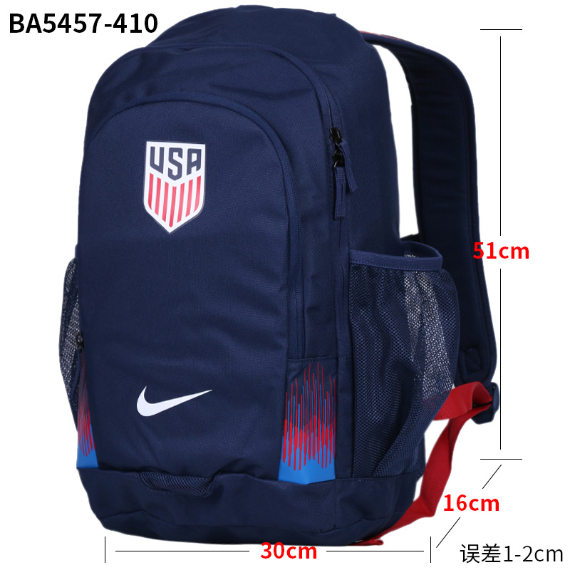24618114e8ca ... Nike men s bag female bag 2018 summer new football training sports bag  student bag backpack shoulder ...