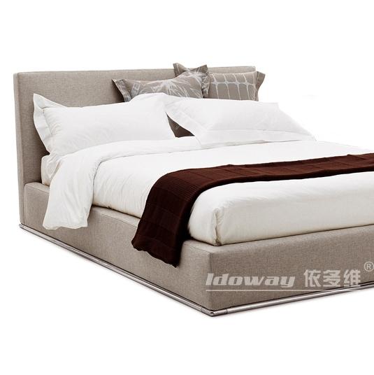 依多维路卡纳双人布艺软床IDB-1005