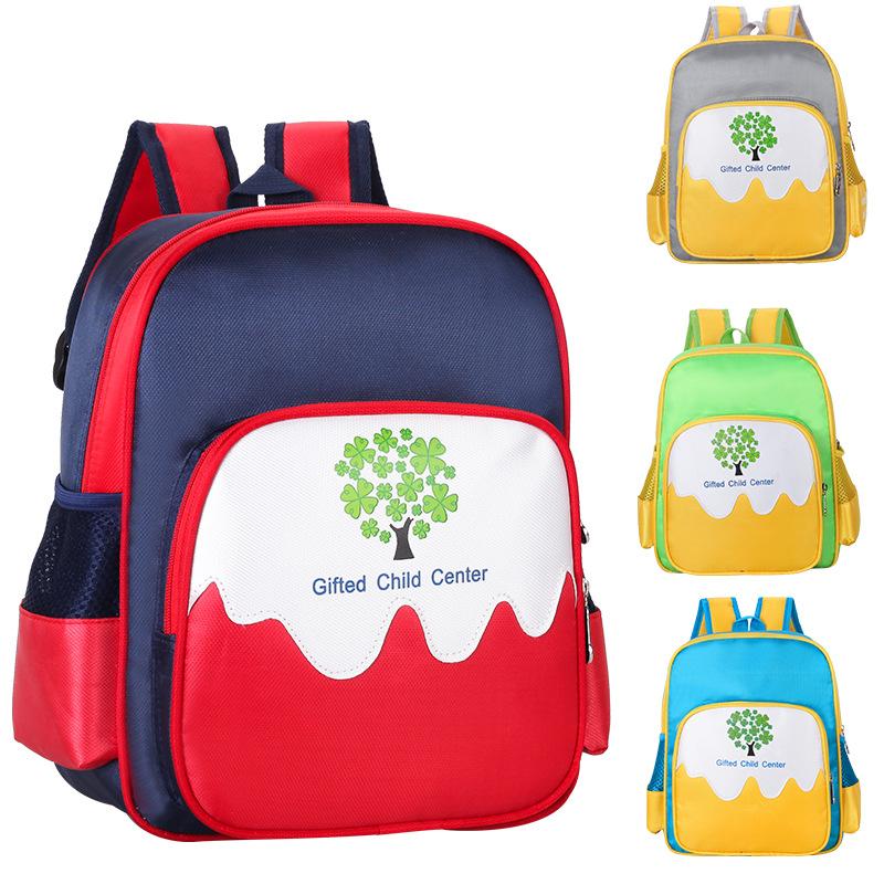 幼儿园3-6岁书包小树男女儿童学生防水减负背包订做定制logo印字
