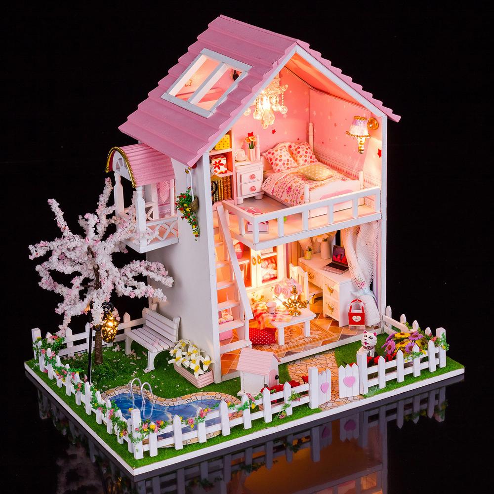 弘达diy小屋 大型手工制作房子拼装模型别墅 创