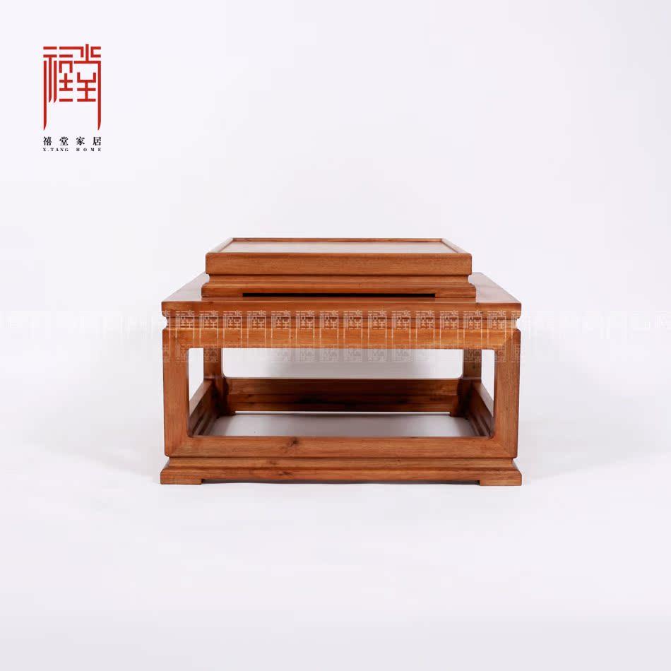 禧堂金丝楠木家具茶桌XTNMCJ1