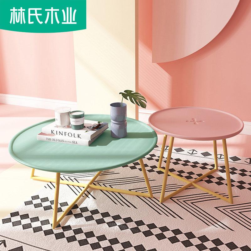 创意个性北欧客厅卧室简约休闲迷你阳台小茶几飘窗桌子铁艺DT1L
