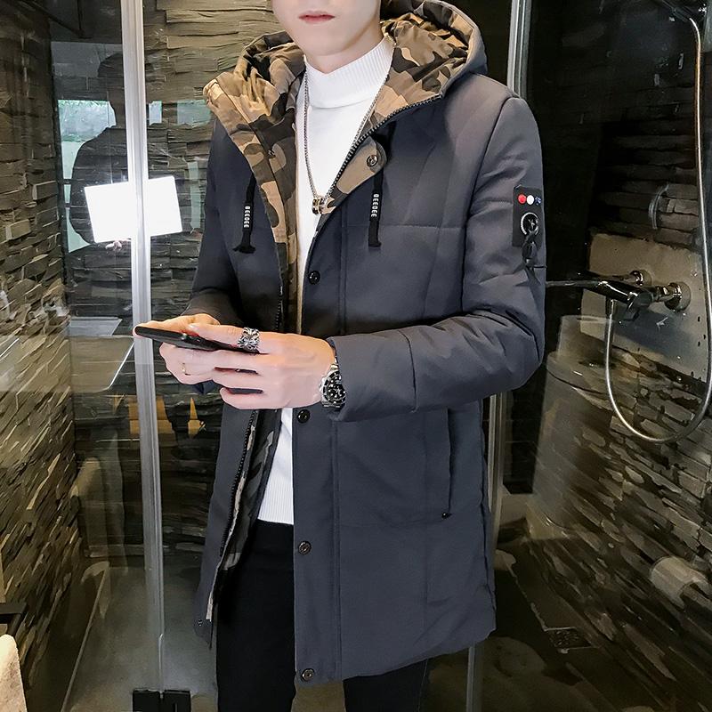 棉衣男士外套冬季2018新款韩版潮流短款休闲修身羽绒棉服冬装棉袄