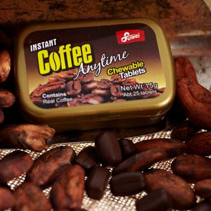 富味咖啡糖香浓醇香咖啡可嚼即食咖啡糖果15g8盒包邮