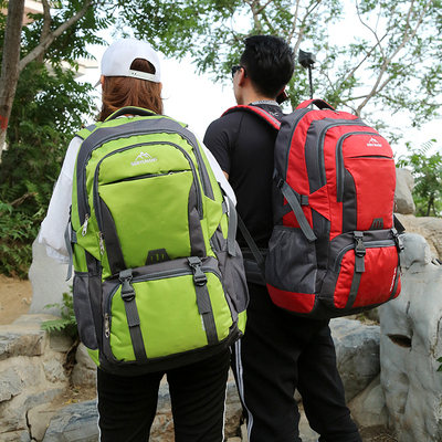65L large capacity backpack male mountaineering bag outdoor travel bag female large backpack travel