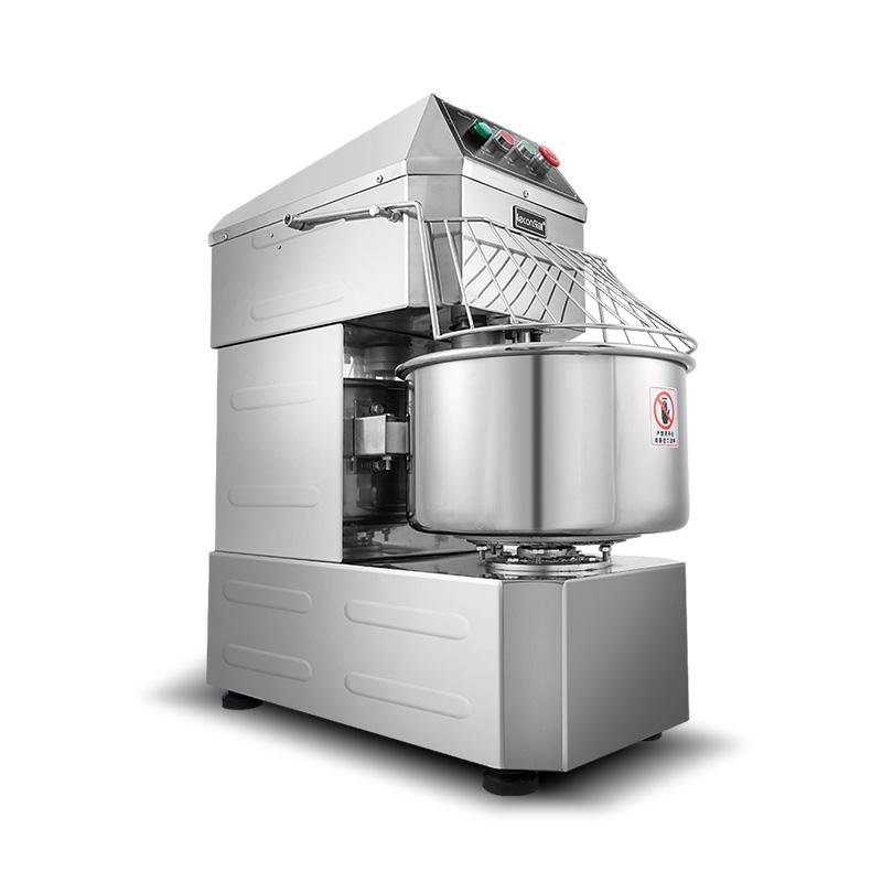lecon-乐创 和面机大型商用双动双速 全自动电动打面揉面机搅拌机