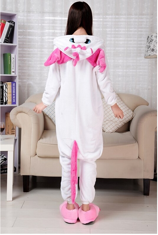 Character footed pajamas for adults