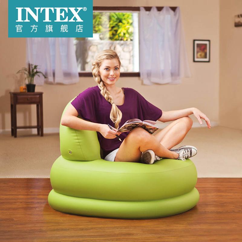 低于海淘 美国Intex 充气休闲靠背沙发 天猫优惠券折后¥89包邮(¥99-10)2色可选