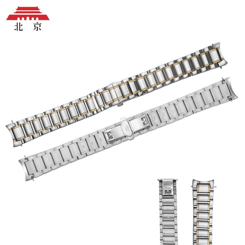 北京手表 表带 男20mm钢带 蝴蝶扣不锈钢表带 原厂表带手表配件产品展示图4