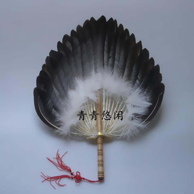 Декоративный веер Чжугэ Кунмин три слоя стоять вентилятор традиционное ремесло emaoshan эко Hung Ming фонарь Вентилятор Вентилятор подарок