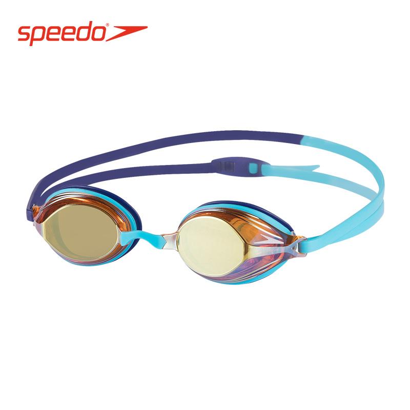18新款Speedo儿童及成人泳镜 专业竞赛及训练男女青少年镀膜泳镜
