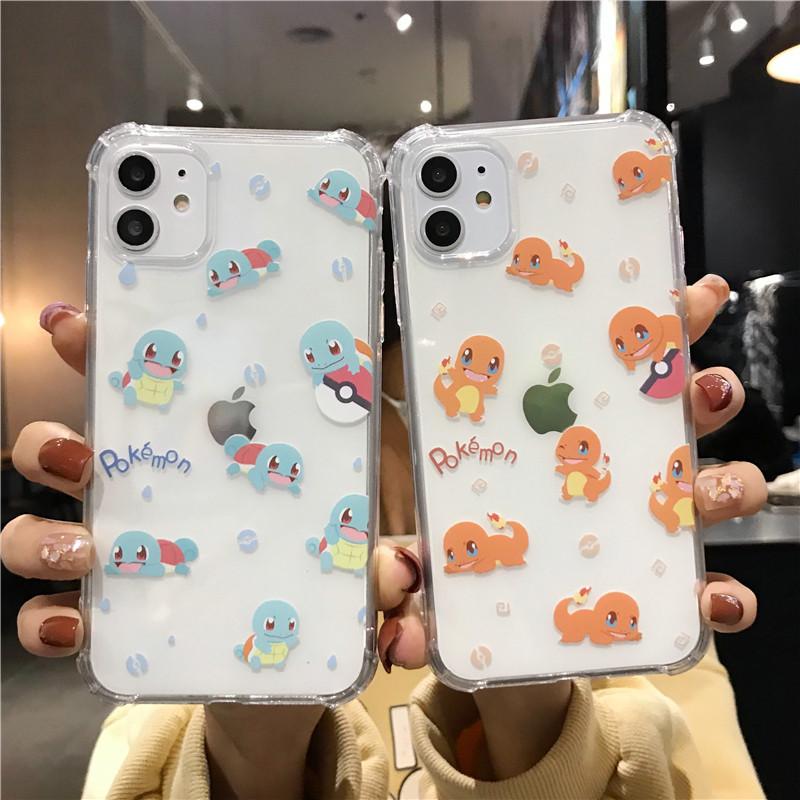 杰尼龟三星s10手机壳s9硅胶s8可爱软plus女壳Galaxy s20卡通s20 plus透明s20 ultra小火龙