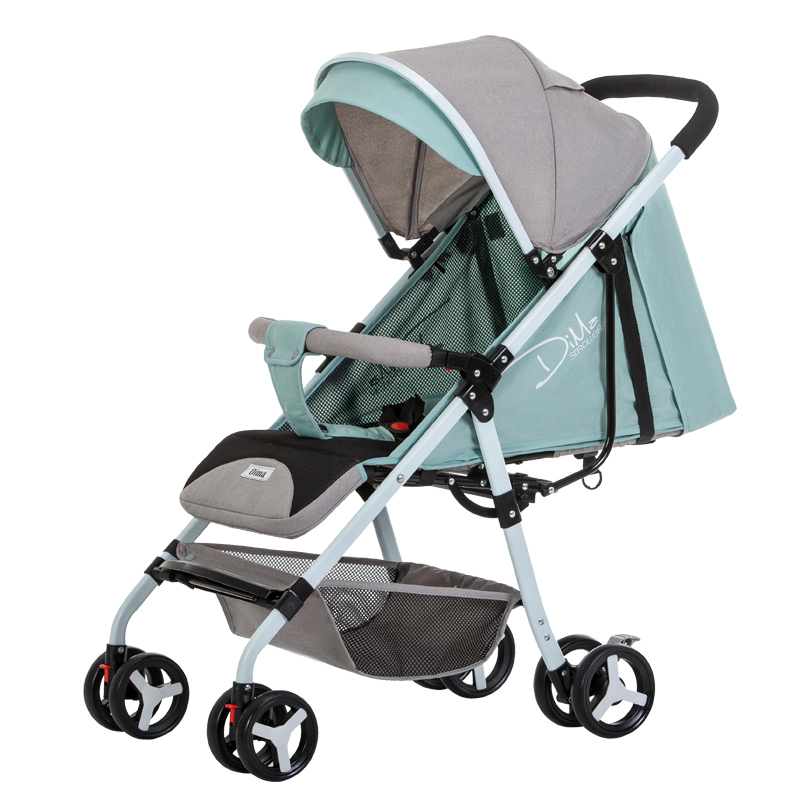 Dima stroller ultra light can sit reclining baby umbrella folding simple child child baby stroller
