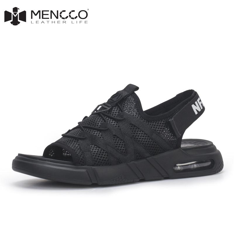 男士凉鞋2018新款夏男潮沙滩鞋运动休闲鞋夏季韩版个性时尚百搭