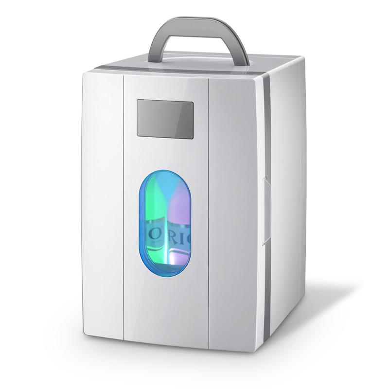 德国冰箱 车载冰箱迷你小冰箱小型家用宿舍冷暖器车家两用胰岛素