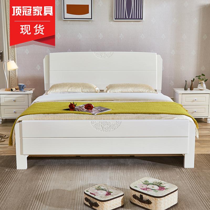 全实木床 儿童床次卧床 清完即下