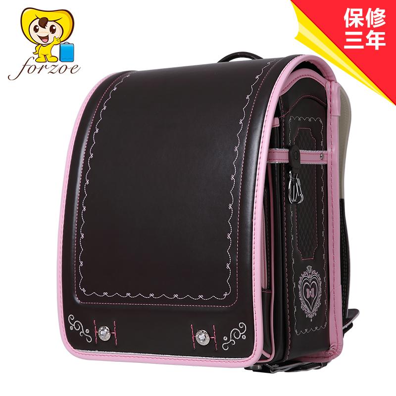 儿童节礼物开学forzoe日本小学生书包日式女童双肩包儿童3-6年级