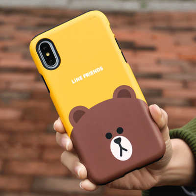 Blanchon Iphonex phone shell couple Apple 6 double Iphone7 silicone new 8plus anti-fall sleeve Tide