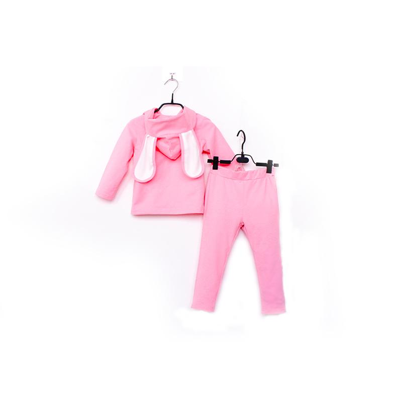 童装2018春装新款儿童套装女童卫衣长裤春秋韩版两件套宝宝套装39