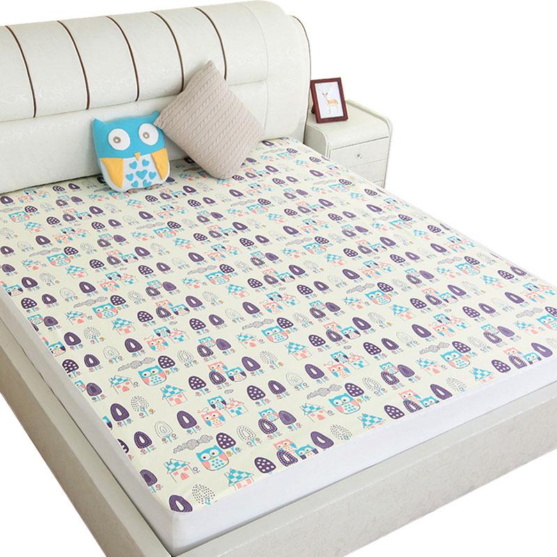 宝宝隔尿垫婴儿防水可洗尿垫超大号防水床笠床单成人护理垫棉1.8m产品展示图4