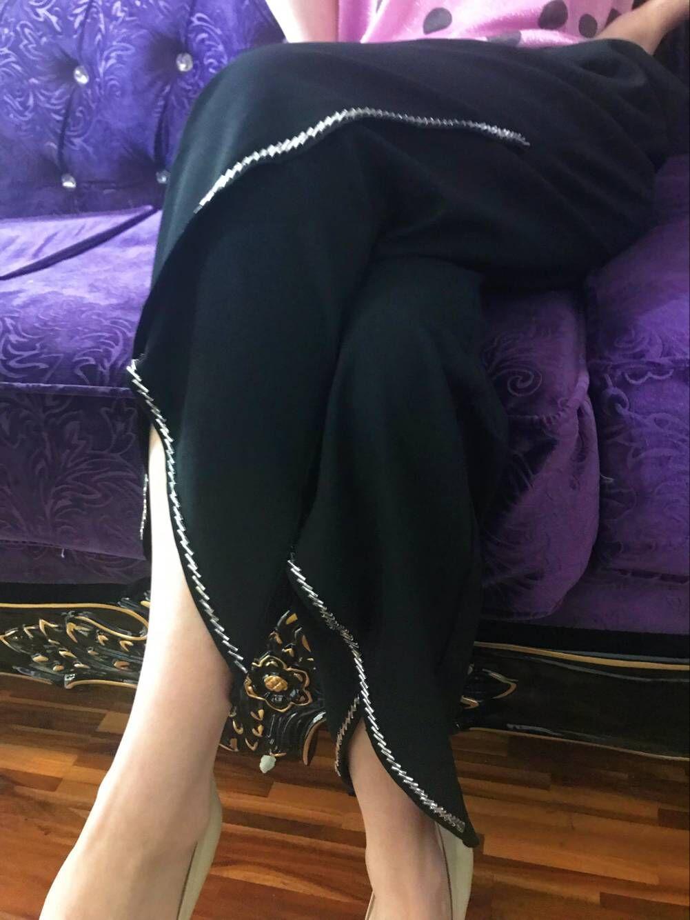 欧洲站夏装2018新款女休闲自然腰脚边开叉长裤欧货顶珠阔腿裤女