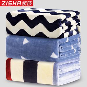 夏季珊瑚绒毛毯加厚法兰绒床单人薄款小毛巾夏凉被子午睡空调毯子