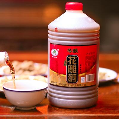 绍兴特产:冬酿花雕酒 5斤